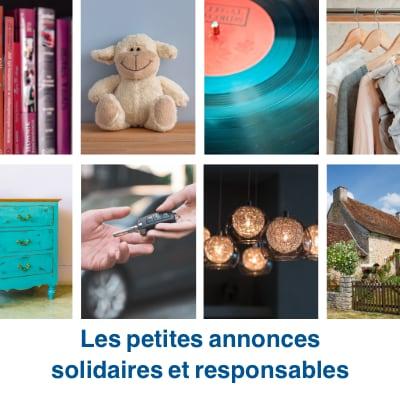 Les petites annonces solidaire de consolidr.fr
